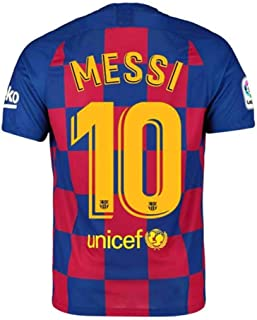 MPCXT Barcelona Men's Soccer Jersey 2019/2020 Home 10 Messi Color Red/Blue