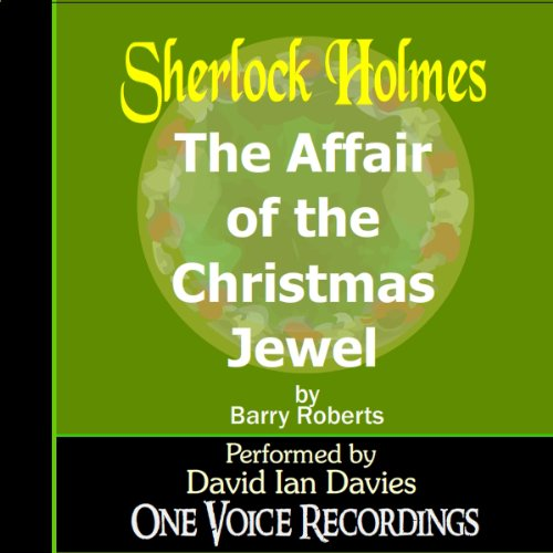 The Affair of the Christmas Jewel audiobook cover art