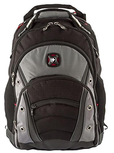 Backpack, Synergy 16' Notebook, Wenger, Carrying Case Material Nylon (Polyamide), PET (Polyester), Case Colour Grey, External Depth - Imperial 10', External Depth - Metric 254mm, External Height - Imp
