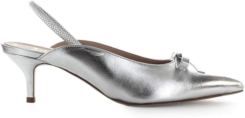 ROBERTO FESTA Kvinnors MIRIANWEB82 MIRIANWEB82 MIRIANWEB82 silver läder klackar  Njut av att spara 30-50% rabatt