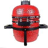Cookfire BAR62003 Horno Brasa Sobremesa, Color Rojo