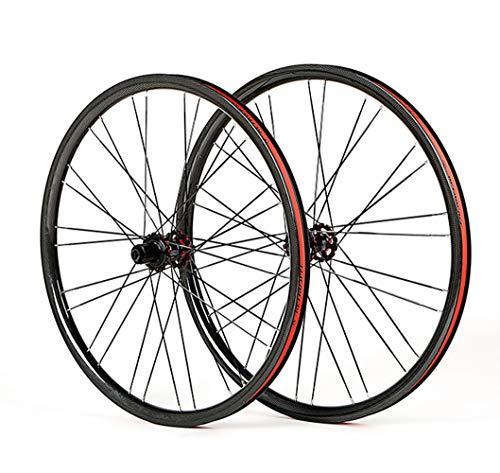 LYzpf Montaña Llantas Bicicleta Rueda Perfil Delantera Trasera Bici Rim 4 Rodamientos Fibra De Carbon 27.5 Inch Accesorios Equipamiento