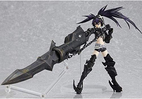 Personajes de anime Black Rock Shooter: Insane Black Rock Shooter 15cm Figura de PVC Estatua Chica Ropa de anime Modelo D Exposición Armas equipadas Computadora de escritorio Colección Decoració W8