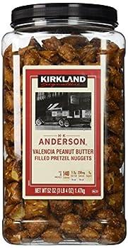 Kirkland Signature H.K Anderson Valencia Peanut Butter Filled Pretzel Nuggets  52 Oz - Cos9