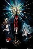 FatCat Wall Graphics Christ-EZ Death Note - Manga/Anime TV Show Poster/Print (Duo - Light vs. L) - Matte Poster Frameless Gift 12 x 18 inch(30cm x 46cm)-S-GZ099