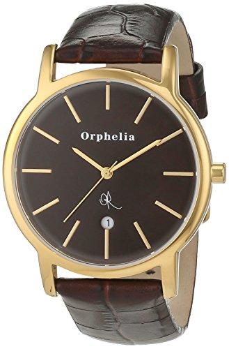 Orphelia OR22670133 - Orologio da polso uomo, pelle, colore: marrone
