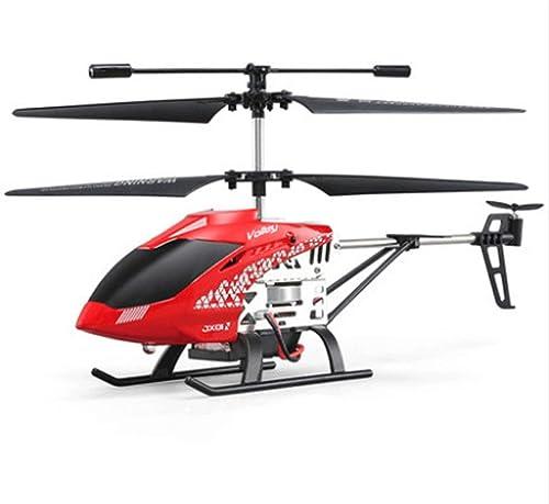 Mopoq Stabilité anti-chute Race 3.5 canaux hélicoptère télécomhommedé avion système à gyroscope à arbre intégré super facile à apprendre bon fonctionneHommest Garçon jouet adapté aux enfants de plus de 6 a