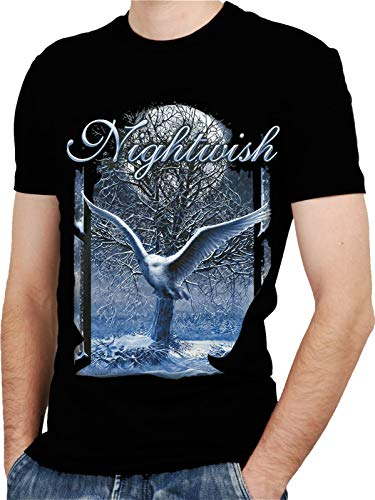 Nightwish Band 1 Black New T-shirt Rock T-shirt Rock Band Shirt