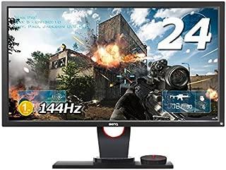 BenQ ゲーミングモニター ディスプレイ ZOWIE  XL2430 24インチ/フルHD/DisplayPort,HDMI,DVI,VGA搭載/144Hz/1ms