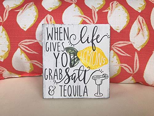 Ced454sy Wanneer het leven geeft je citroenen grijpen zout en tequila