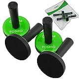 FOSHIO 4Pz Vinilo Coche Magnetico Soporte para Imanes de Abrigo del vehículo...