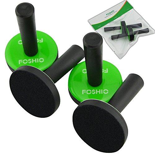 FOSHIO 4 Stück Magnete für Wrapping, Montagemagnet mit Kunststoffgriff, Haftmagnet für Vinyl, Car Wrapping, Folieren Folie, Auto Folie DIY, Auto Folie Wrap
