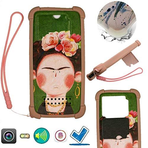 Huawei Ijie Schutzhülle für Alcatel Tcl T799h (aus Silikon, mit Ständer)