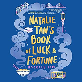 Natalie Tan's Book of Luck and Fortune audiobook cover art