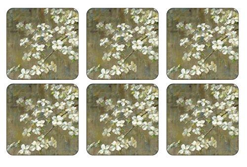 Pimpernel Dogwood in Spring Untersetzer 6 Stück (s)