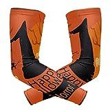 COOSUN Lot de 2 manches de compression avec motif éléphant, protection UV pour le cyclisme, la conduite, la course, le basket-ball, le football, les activités de plein air