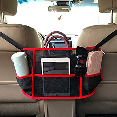 Amazon - 50% Off on Car Net Pocket Handbag Holder Between Seats Car Net Purse Holder Car