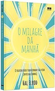 Capa do livro O milagre da manhã