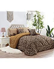 Paisley Comforter Set by Moon- 6 Pieces, King Size, NO.09