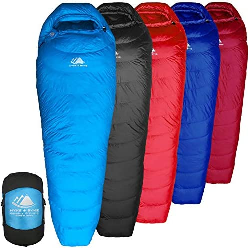 Top 10 Best compact sleeping bags for backpacking Reviews