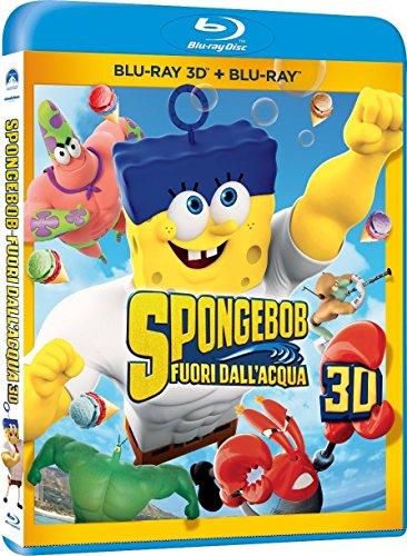 Spongebob - Fuori dall'acqua(2D+3D) [3D Blu-ray] [IT Import]