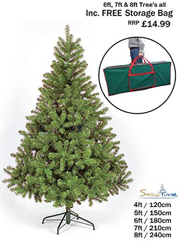 NEW COLORADO GREEN ARTIFICIAL CHRISTMAS TREE ((7FT -...