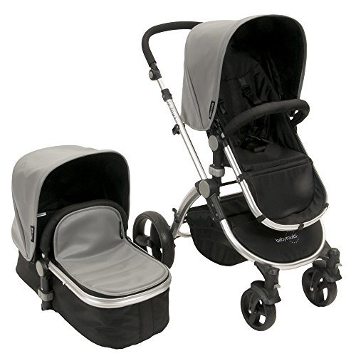 Best Buy! babyroues Letour Lux II Stroller, Grey