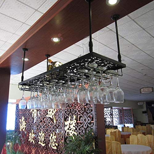 Creative Rack ijzer verstelbaar gieter wanddecoratie restaurant bar geheugen display frame zwart L20.02.04