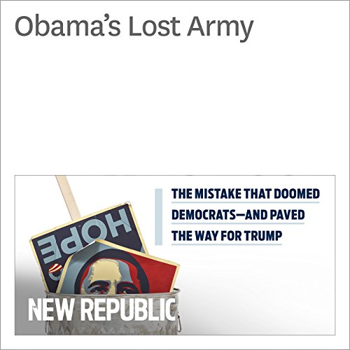 Obama's Lost Army audiobook cover art