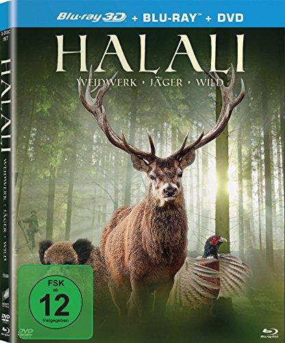 Halali [Blu-ray 3D + Blu-ray + DVD]