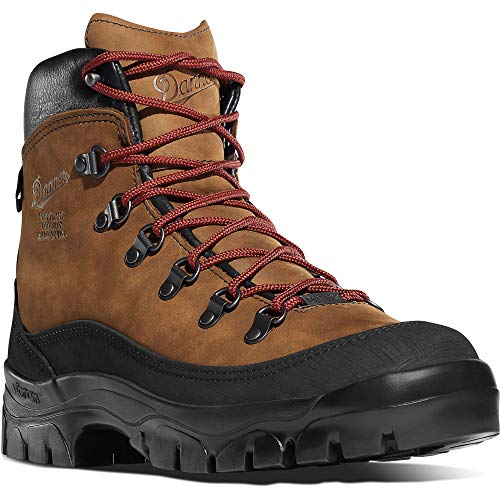 """Danner Women's 37414 Crater Rim 6"""" Gore-Tex Hiking Boot, Brown - 5 M"""