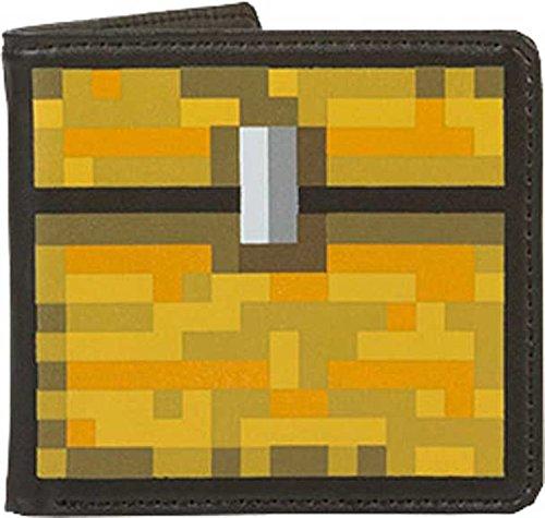 Cartera amarilla de Minecraft