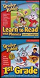 Reader Rabbit Collection: Learn to Read With Phonics (Ages 3-6) / Building 1st Grade Essential Skills (Ages 5-7) [3 CD-ROMs/Windows and Macintosh]
