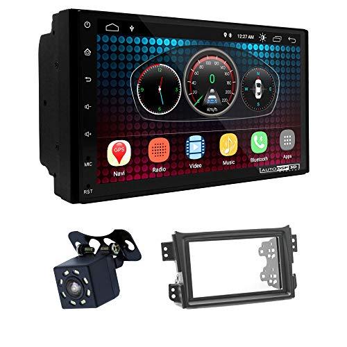 UGAR EX6 7' Android 6.0 DSP Navigazione GPS per Autoradio + 11-131 Kit di montaggio compatibile con OPEL Agila 2008-2014 / Suzuki Splash, Ritz 2008-2012