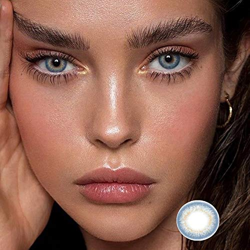 Mixed Farbe Weiche Farbe Kontaktlinsen Kleine Durchmesser Kontaktlinsen