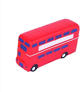 Digood Kids Adults Squishies Toy Cartoon Bus Squeeze Slow Rising Stress Relief Toys Gifts Decoration