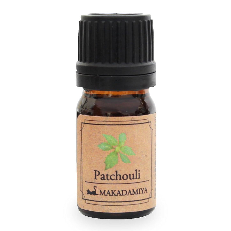 クライアント破壊前提条件パチュリ5ml 天然100%植物性 エッセンシャルオイル(精油) アロマオイル アロママッサージ aroma Patchouli