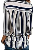 Zoom IMG-1 donna camicetta chiffon blusa elegante