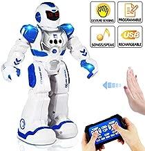 AILUKI RC Robot Toy ,Programmable Intelligent Sing Dance Walk Smart Robotics, Robot Gift for Kids