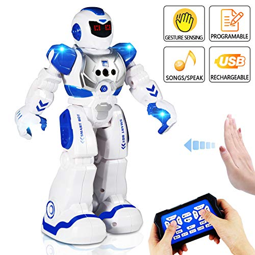 AILUKI RC Robot Toy ,Programmable...