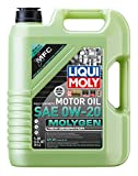 Liqui Moly 20438 Molygen New Generation SAE 0W-20 Synthetic Motor Oil, 5 Liter