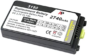 Artisan Power Motorola/Symbol MC3100 & MC3190 Scanners: Replacement Battery. 2740 mAh
