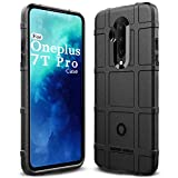 Sucnakp OnePlus 7T Pro Case One Plus 7T Pro Case Heavy Duty Shock Absorption Phone Cases Impact Resistant Protective Cover for Oneplus 7T Pro 5G McLaren Edition(New Black)