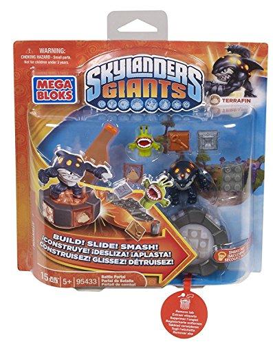 Mega Bloks Skylander Giants Battle Portals Figuren mit Zubehör