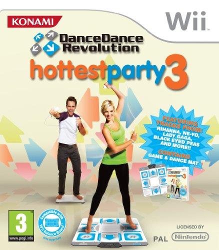 Dance Dance Revolution Hottest Party 3 with dancemat (Wii) [Edizione: Regno Unito]