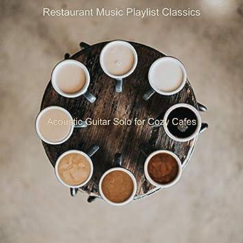 Acoustic Guitar Solo for Cozy Cafes