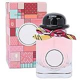Perfume ligero refrescante de 50 ml, spray de perfume de fragancia floral de frutas de larga duración para mujeres