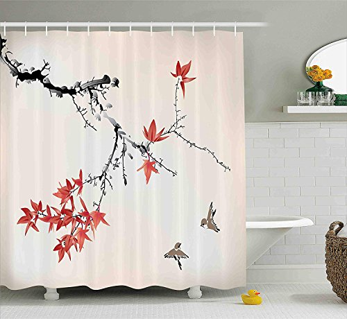 cortinas de baño japonesa
