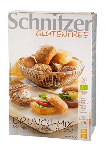 Schnitzer mieszanka bułek do pieczenia, bezglutenowe (200 g) – Bio