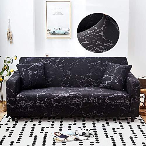 Fundas de sofá elásticas geométricas para Sala de Estar Funda de sofá Moderna para Silla de sofá de Diferentes Formas Funda de sofá Estilo L A13 4 plazas